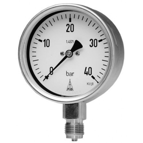 Industrial Bourdon Tube Pressure Gauges
