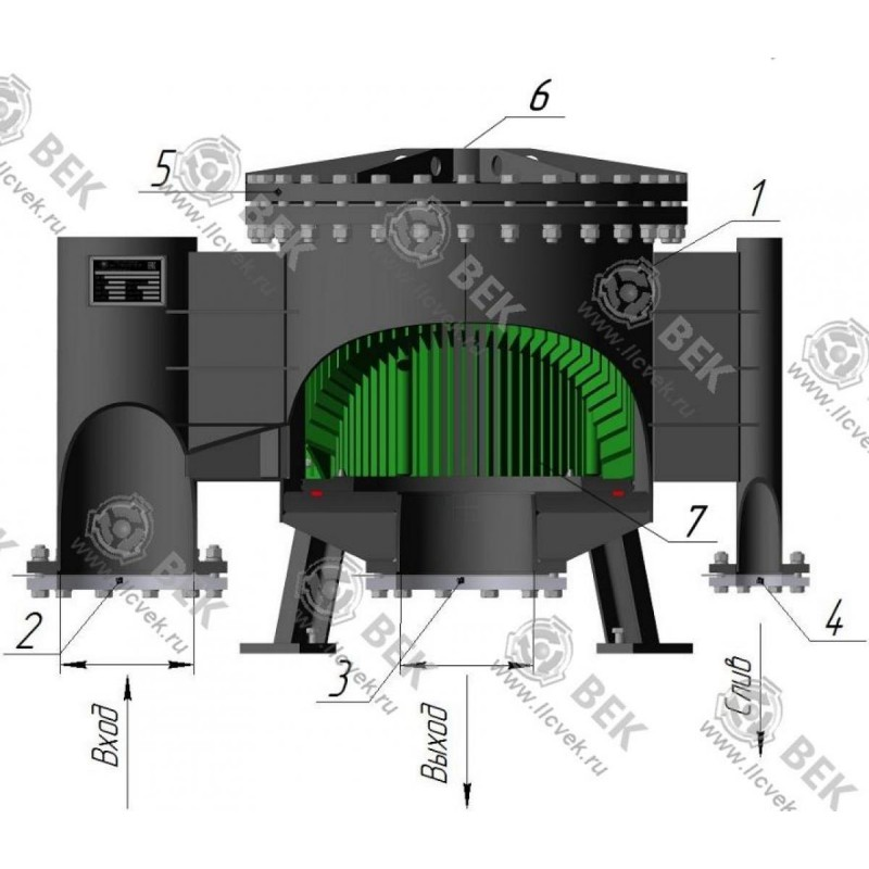 Produktspezifikation und Filterverbindungsdiagramme