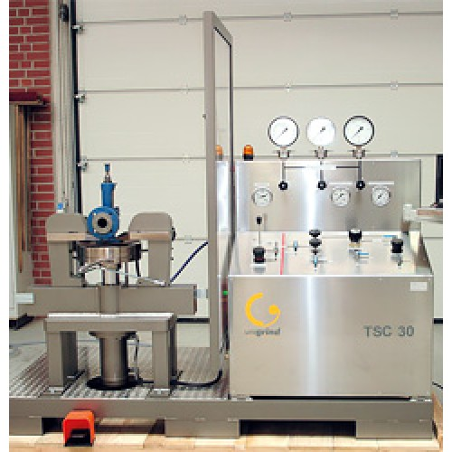TEST BENCHES FOR VERTICAL VALVES