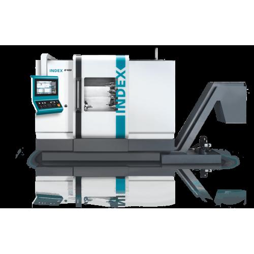 Die Universal-Drehmaschine INDEX B400