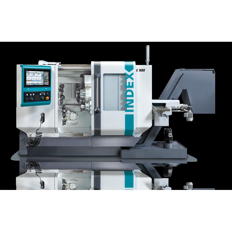 Die Hochleistungsdrehmaschine INDEX C100