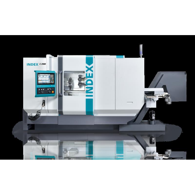Die Hochleistungsdrehmaschine INDEX C200
