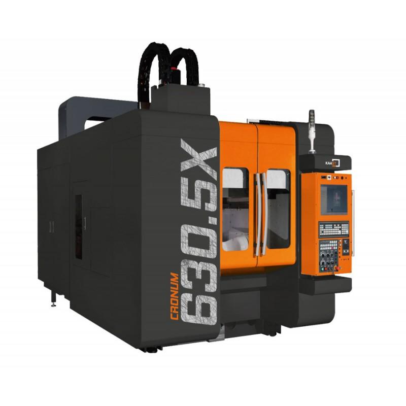 Die 5-Achs-Vertikal-Fräsmaschine CRONUM 630.5X