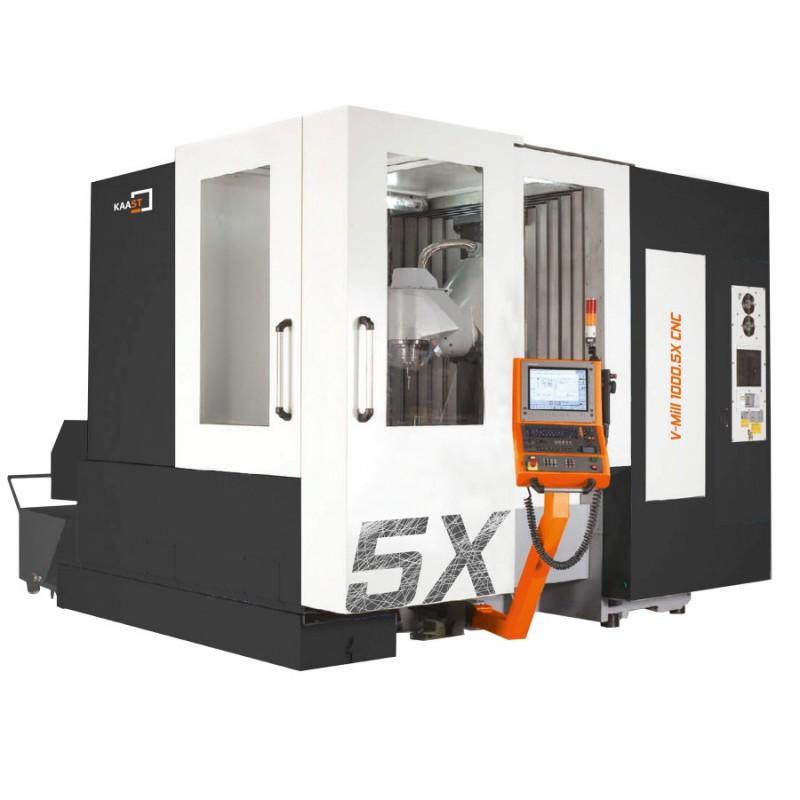 Die 5-Achs-Vertikal-Fräsmaschine V-Mill 1000.5X CNC