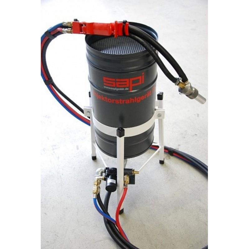Der Sandstrahl-Ejektor Profi 1 (25 Liter)