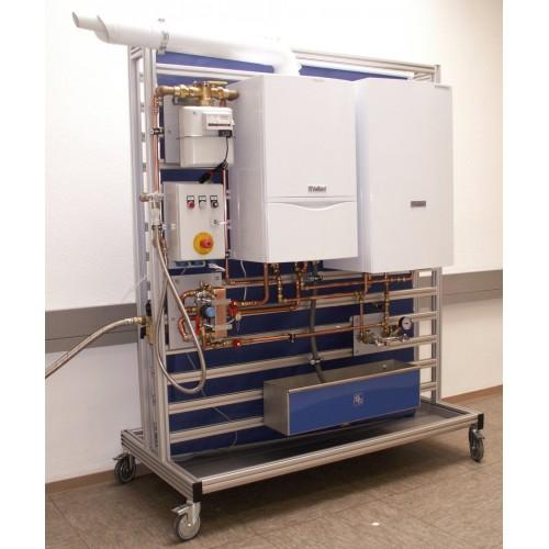 Мобильный испытательный стенд для настенных газовых жидкотопливных котлов, арт. 571700