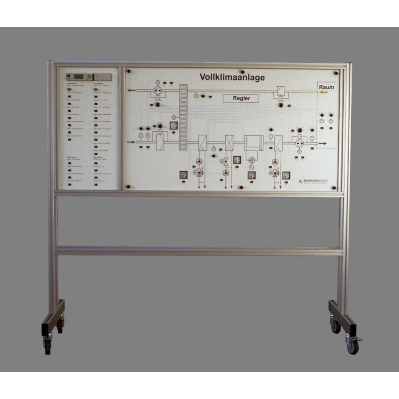 Die Teil- und Vollklimaanlage. Kompaktmodell. Artikelnummer 830940-MS