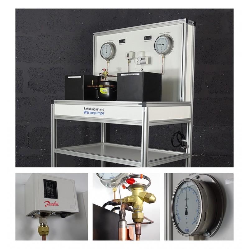 """Demonstrationsmodell """"Wärmepumpe"""", System Wasser / Wasser Art.-Nr. 84402"""